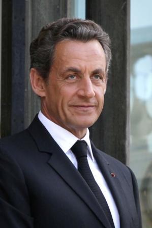 הנשיא ניקולא סרקוזי