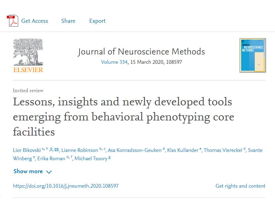 Journal of Neuroscience